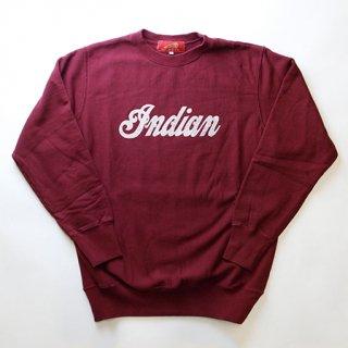 《Indian/インディアン》定番スウェット