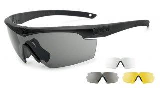 【ESSサングラス】Crosshair 3LS(フレーム:ブラック、レンズ:スモーク・クリアー・イエロー)