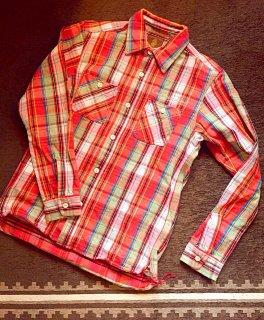 【CALIFORNIA LINE】 カリフォルニアライン ネルシャツ・赤/HEAVY FLANNEL SHIRTS