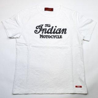 【Indian Motocycle】 インディアンモトサイクル ロゴチェーンシシュウTシャツ