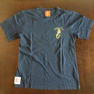 【CALIFORNIA LINE】 カリフォルニアライン マーメイドTシャツ インディゴ