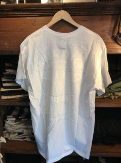 【SKULL FLIGHT/スカルフライト】 13ウイング サイドジップTシャツ ホワイト