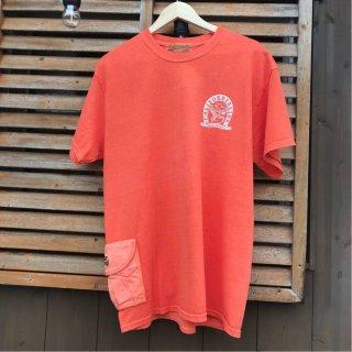 【CALIFORNIA LINE】 カリフォルニアライン サイドポケットTシャツ スカルフライト