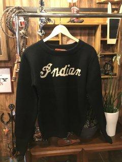 《Indian》ビンテージ復刻セーター 2カラー インディアンモトサイクル