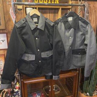 【児島ジーンズ】ポリススタイルシャツ 2カラー ワークウェア ワークシャツ