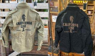 【CALIFORNIA LINE】 M65ミリタリージャケット 2カラー