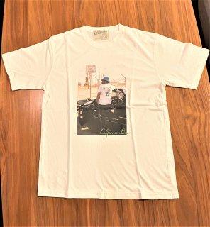 【CALIFORNIA LINE】 ワッペン・フォトTシャツ マーメイド カリフォルニアライン