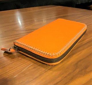【FUNNY/ファニー】Charlie's Wallet チャーリーズウォレット シュリンクレザー Mサイズ オレンジ