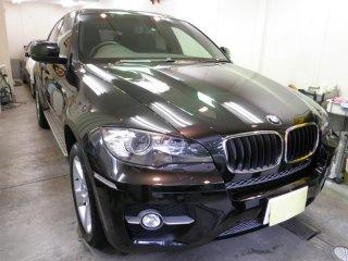 2012年10月-投稿 BMW・X6(GT-Cグラステックコート)!