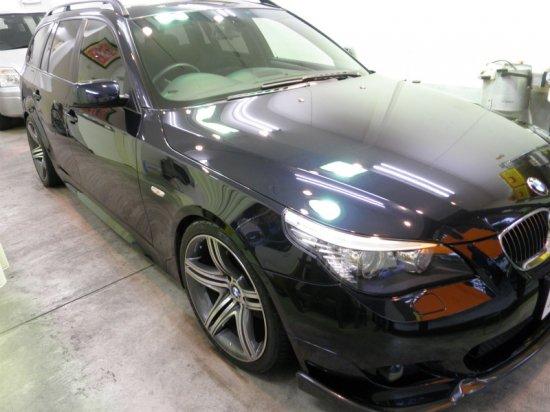 BMW530iツーリング(GT−Cグラステックコート)!