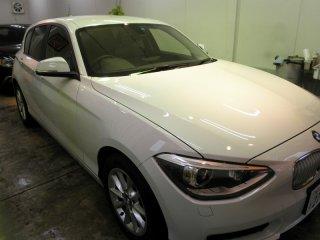 2013年10月-投稿 BMW116i コーティングメンテナンスの御依頼!