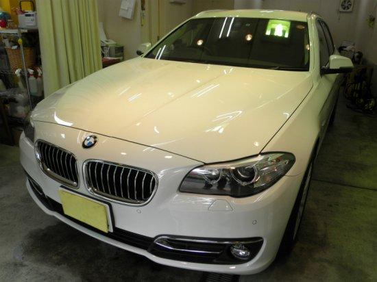 BMW523iツーリング(GT-Cグラステックコート)