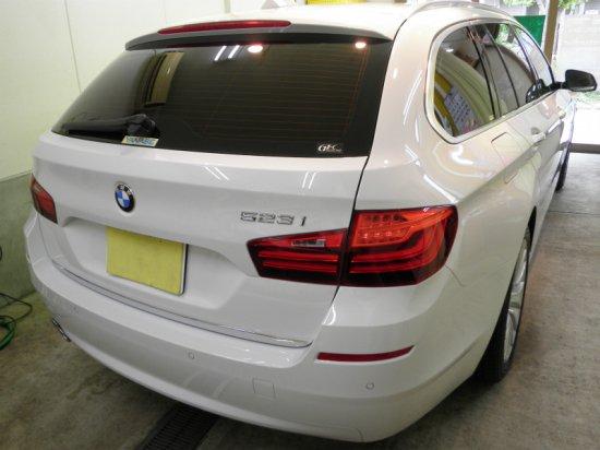 BMW523iツーリング(GT-Cグラステックコート)【画像2】
