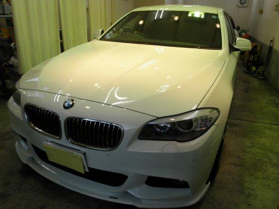 BMW5シリーズ(グロスライドガラスコーティング)【画像2】