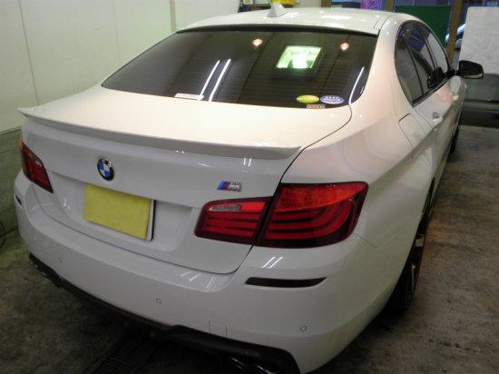 BMW5シリーズ(グロスライドガラスコーティング)【画像3】