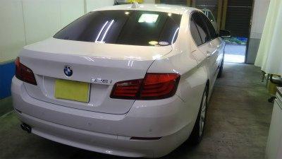 BMW528i・ボディガラスコーティング!【画像13】