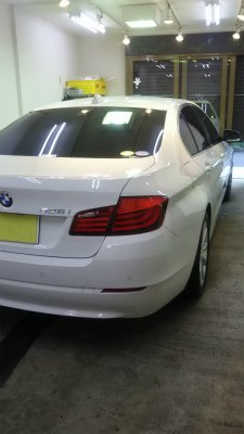 BMW528i・ボディガラスコーティング!【画像14】