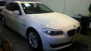 BMW5 BMW528i・ボディガラスコーティング!