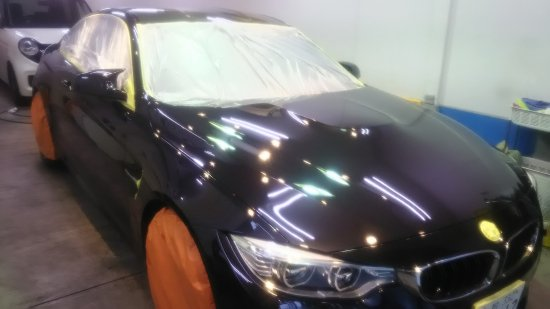 BMWM4・ボディガラスコーティング施工のご依頼!【画像13】