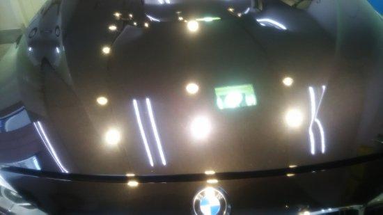 BMWM4・ボディガラスコーティング施工のご依頼!【画像7】