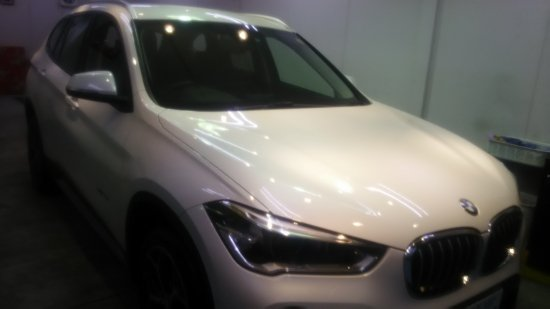 BMWX1・ボディガラスコーティング施工のご依頼!【画像2】