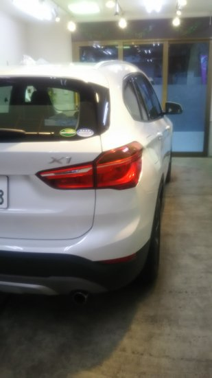 BMWX1・ボディガラスコーティング施工のご依頼!【画像3】