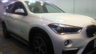BMWX1・ボディガラスコーティング施工のご依頼!