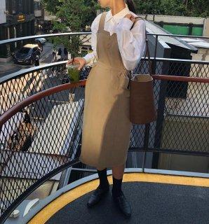 大人かわいいジャンパースカート◇カジュアル ワンピース 2色