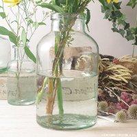 フラワーベース 花瓶 ガラス クラシカルガラスフラワーベースF