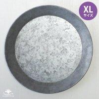 ブリキ製シャビートレイ XLサイズ・日本郵便クリックポスト対応:可/1通3個まで