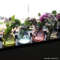 バレンシア・リサイクルガラス ミニフラワーベース CERO