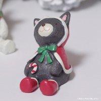 ノーティーハッピークリスマス ネコ オブジェ