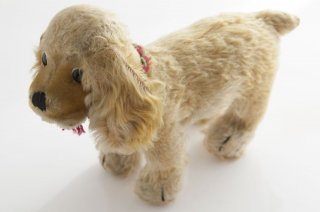 シュタイフ 犬(コッカースパニエル)