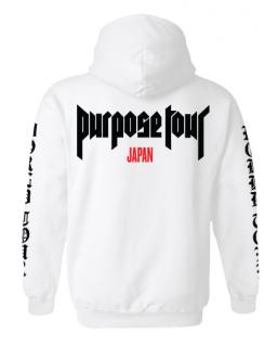 Purpose Tour Japan Hoodie《White》