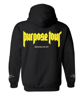 Purpose Tour Brooklyn Hoodie《Black》