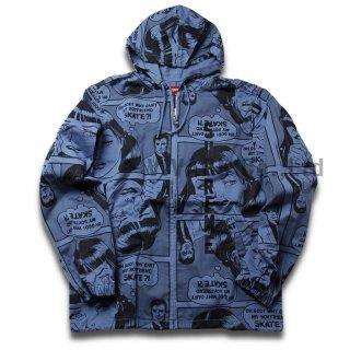Supreme?/Thrasher? Boyfriend Hooded Zip Up Jacket