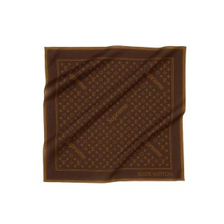 Supreme×Louis Vuitton Monogram Bandana《Brown》