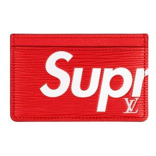 Supreme×Louis Vuitton Porte Carte Simple《Red》