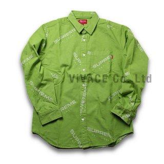 Jacquard Denim Shirt