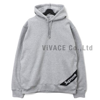Corner Label Hooded Sweatshirt