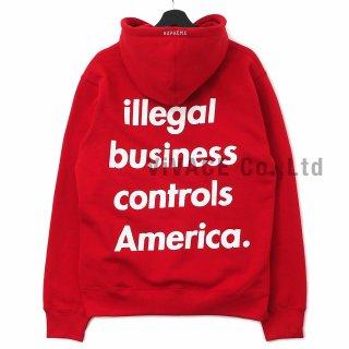 Illegal Business Hooded Sweatshirt