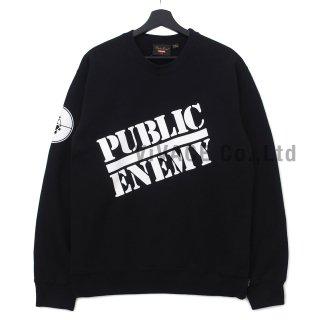 Supreme?/UNDERCOVER/Public Enemy Crewneck Sweatshirt