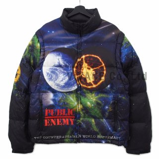 Supreme?/UNDERCOVER/Public Enemy Puffy Jacket