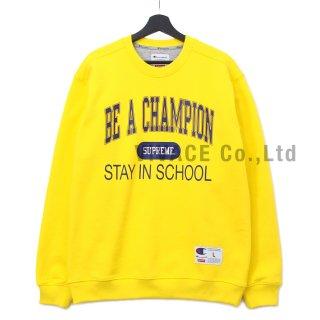 Supreme?/Champion? Stay In School Crewneck