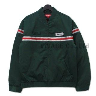 Reflective Stripe Work Jacket