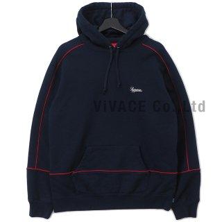Piping Hooded Sweatshirt