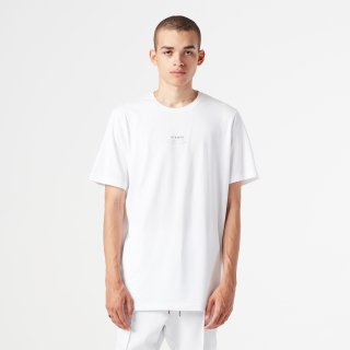 Stacked STAMPD Tee《White》