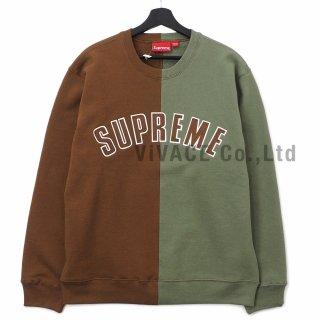 Split Crewneck Sweatshirt