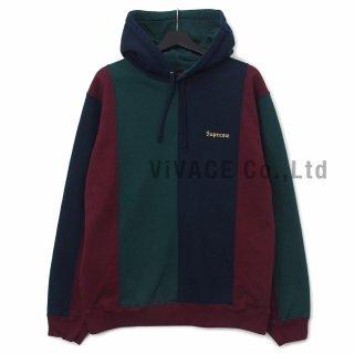 Tricolor Hooded Sweatshirt