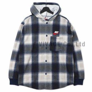 Supreme?/Nike? Plaid Hooded Sweatshirt